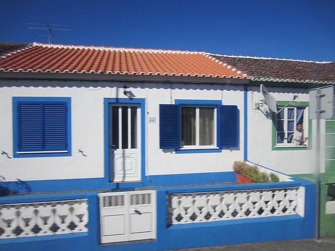 Terceira huis op de Azoren