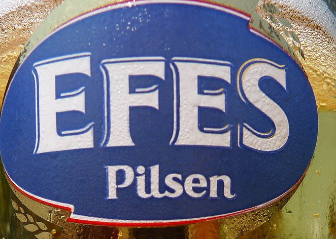 Turks bier Efes