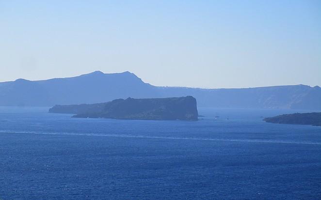 Vergezicht Santorini