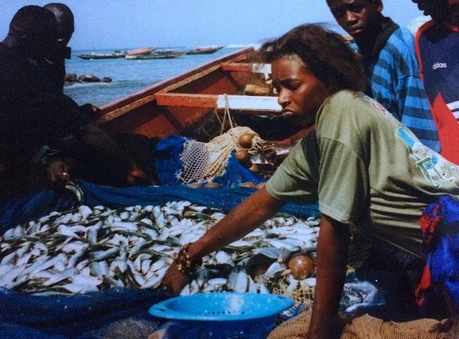 Visvangst Senegal