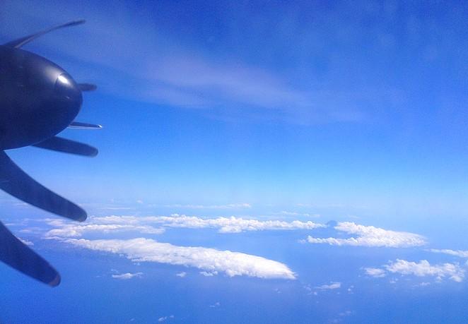 Vlucht Azoren SATA