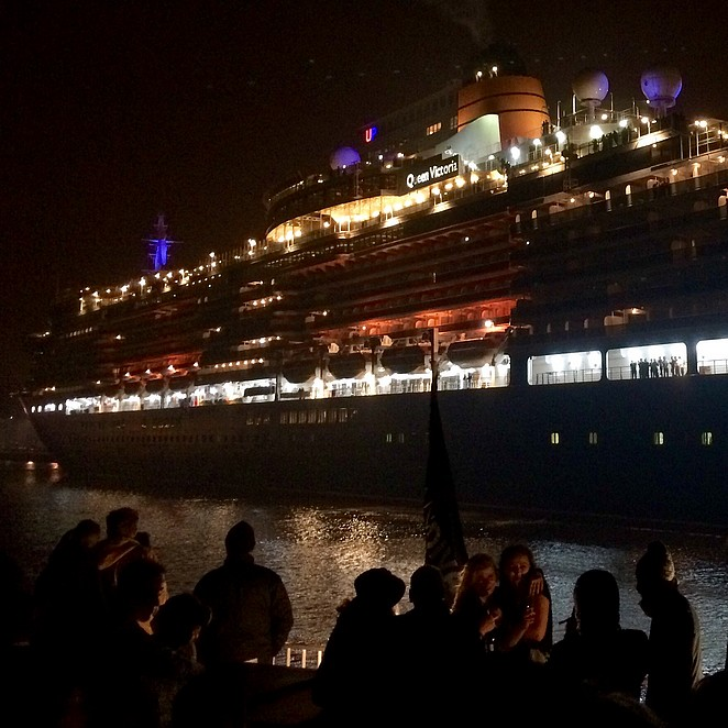 New Years Eve op de Ocean Diva in Amsterdam