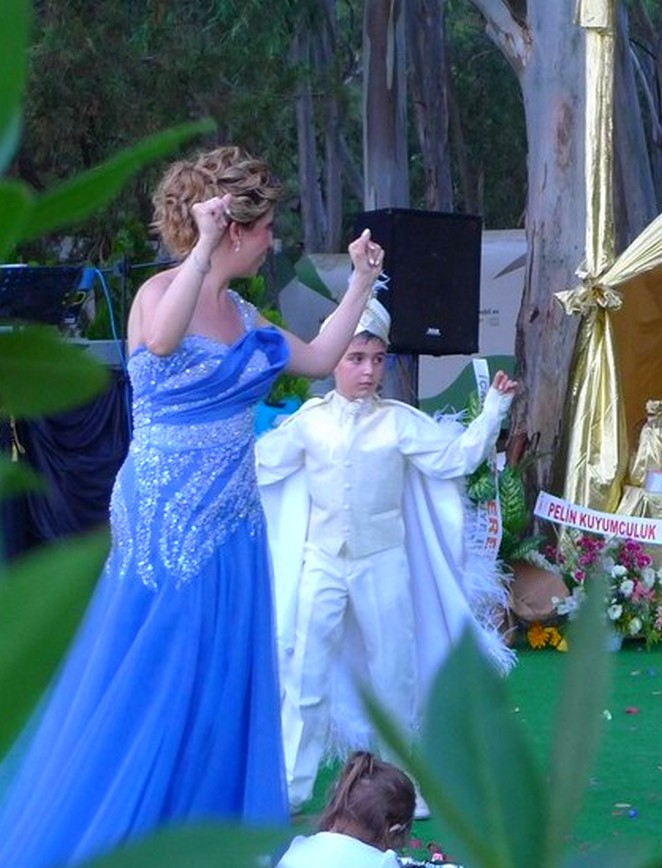 Bruiloft Akyaka Turkije