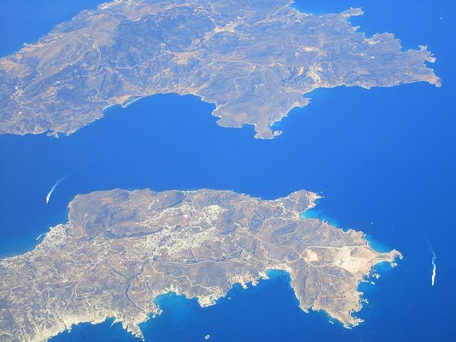 Griekenland-luchtfoto