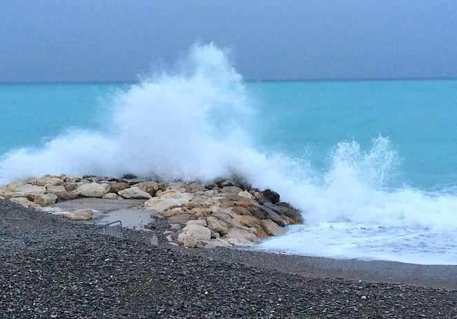 opspattend-zeewater
