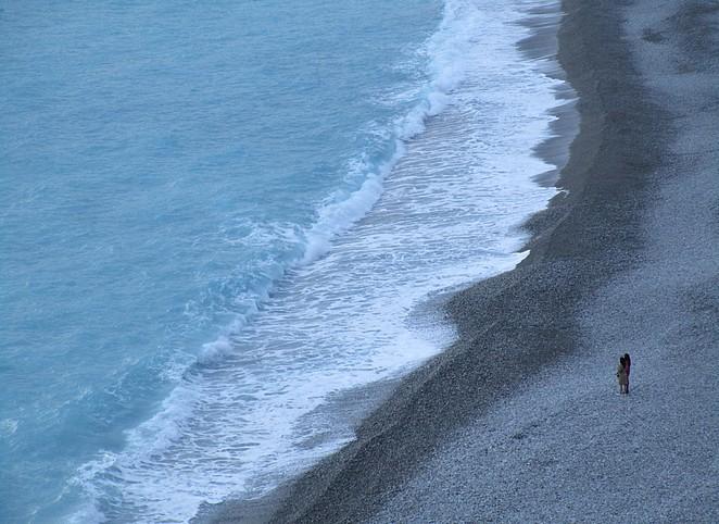 Toeristen-Nice-strand