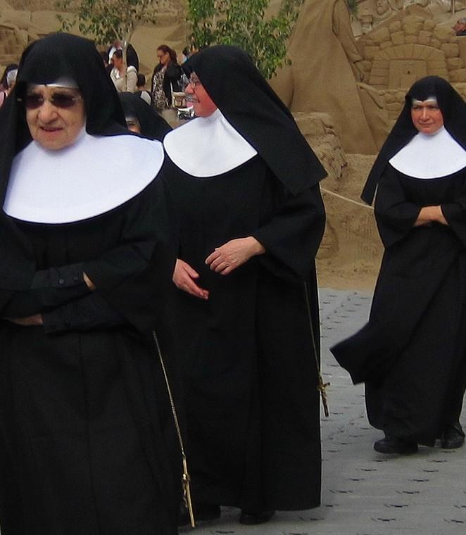 Nonnen op Gran Canaria