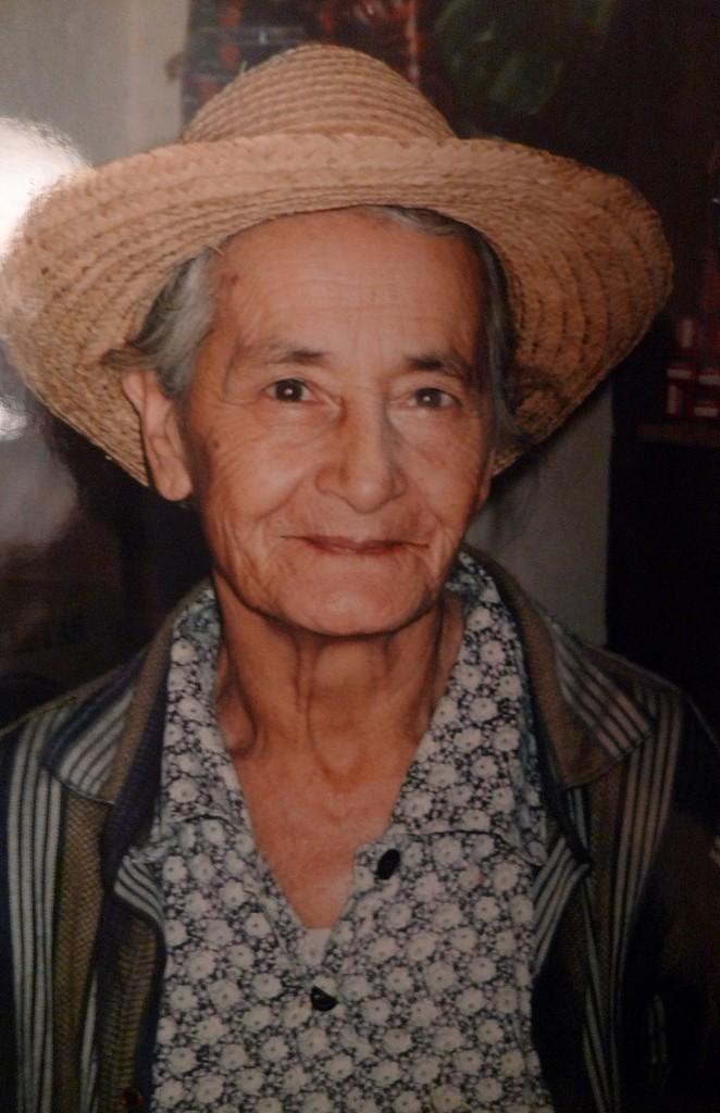Vrouw in de Andes Venezuela