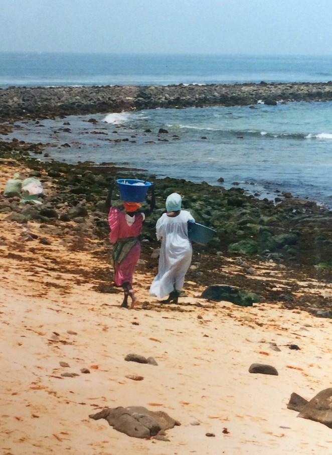 Vrouwen bij Dakar