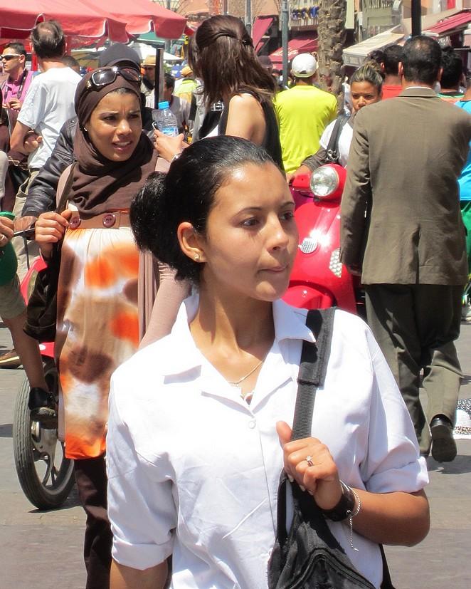 Vrouwen in Marrakech