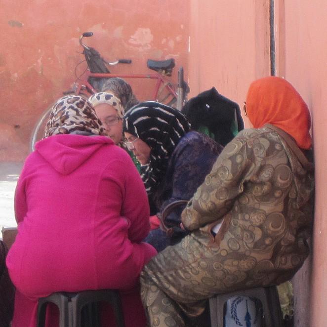 Vrouwen theekransje Marokko
