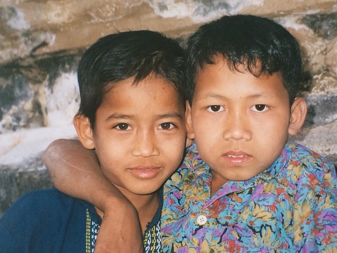 jongens-Myanmar