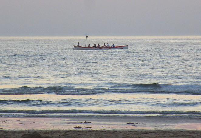 roeien-zee