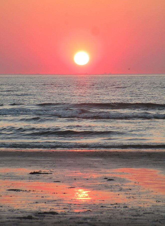 roze-zonsondergang