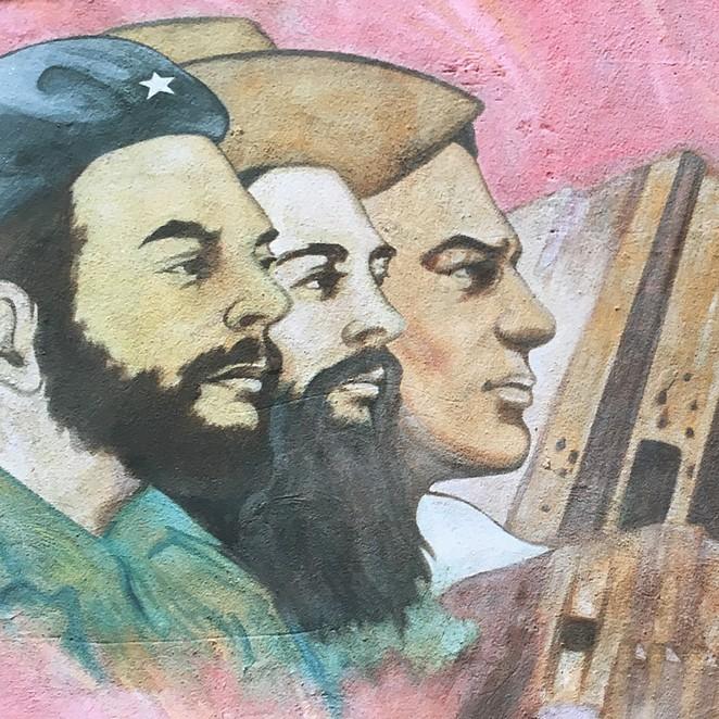 Fidel Castro en de Cubaanse leuzen