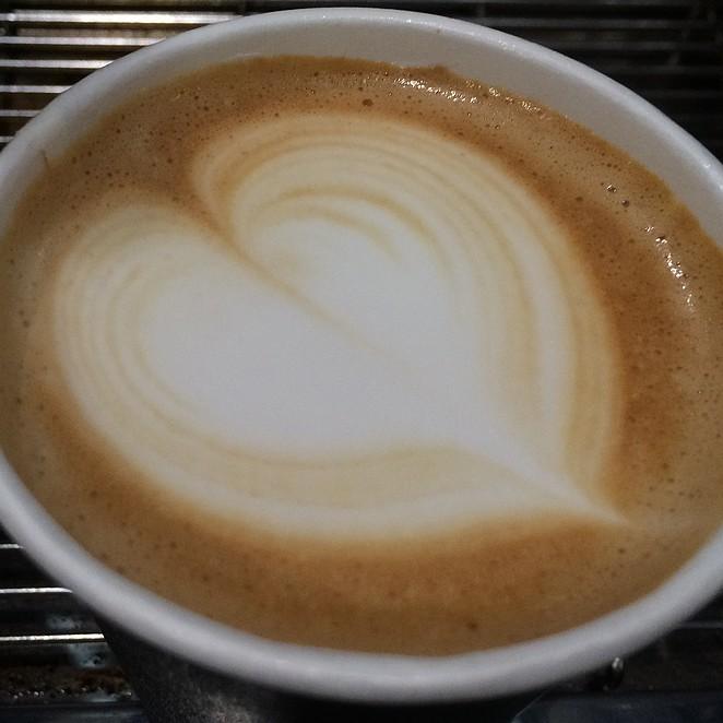 koffie-hartje