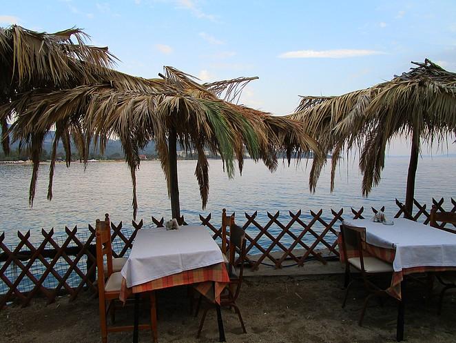 Chalkidiki-restaurantje