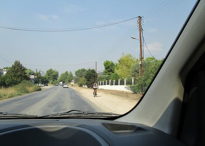 rijden-fietsen-chalkidiki