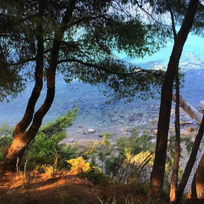 Fietsen en wandelen op Chalkidiki
