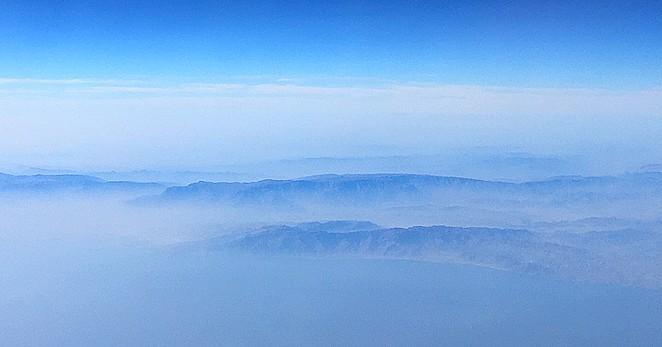 Bergketen-Oman