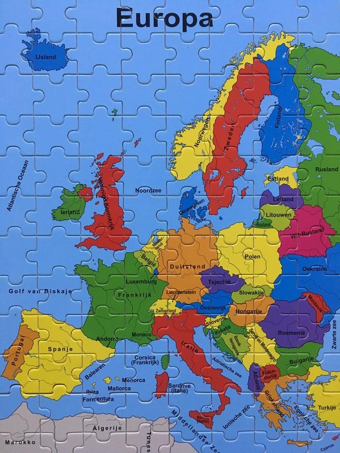 Houten-puzzel-Europa