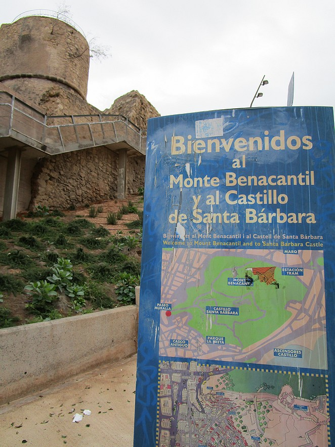 Monte-Benacantil-kasteel