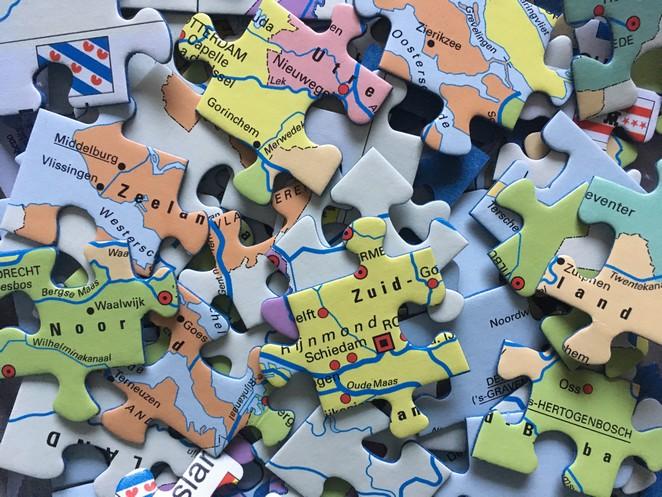 Puzzelstukjes-Nederland
