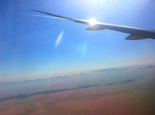 Raamplaats-vliegtuig
