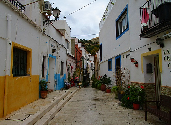 Santa-Cruz-wijk-Alicante