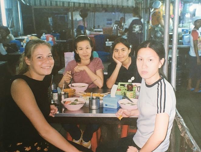 Uit eten thailand