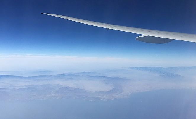 Vliegen-Golf-van-Oman