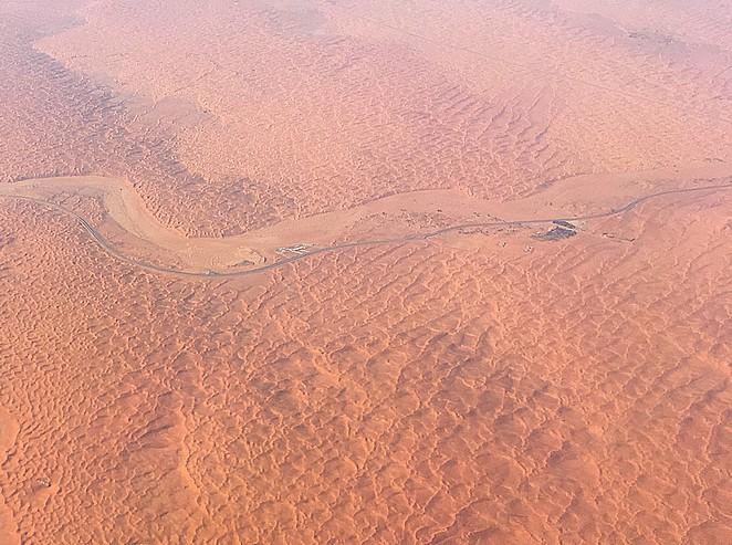 Woestijn-Sharjah