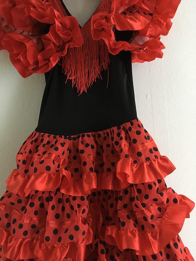Flamencojurk-meisje