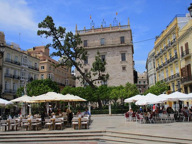 Terrasjes-centrum-Valencia