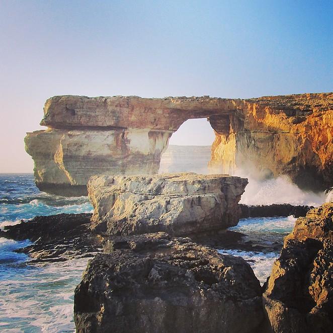 Bezienswaardigheid Azure Window op Gozo ingestort