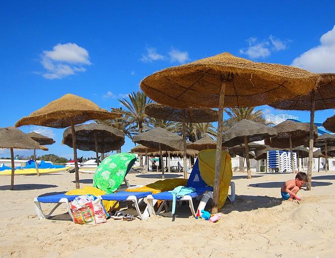 Tunesie strand