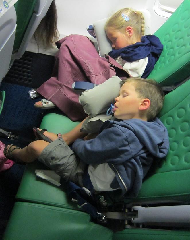 Vliegen-met-kids