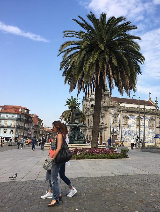 Porto-kerk-tegeltjes