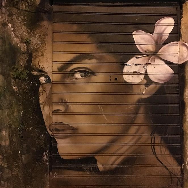 Street art in Palermo