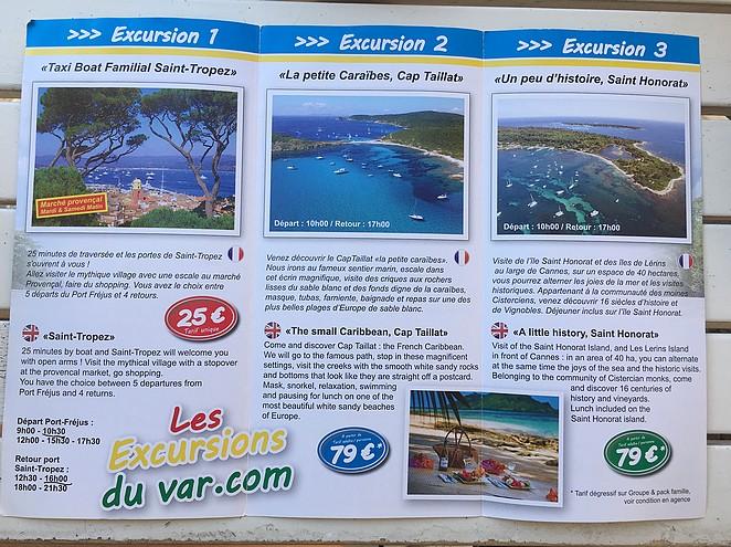excursions-var