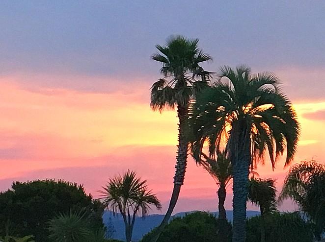zonsondergang-frejus