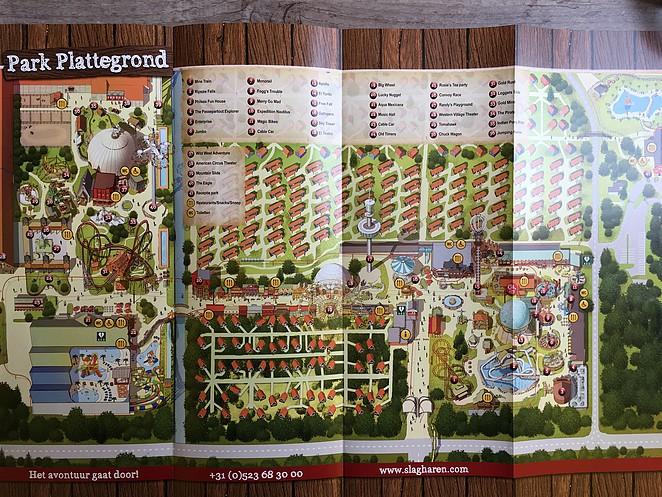 plattegrond-vakantiepark-slagharen