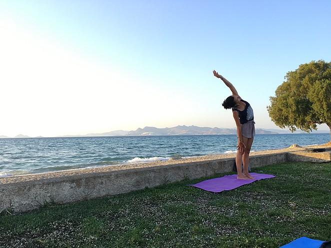 yoga-vakantie-aan-zee