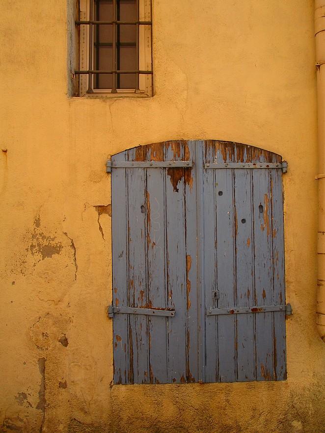 gekleurd huis