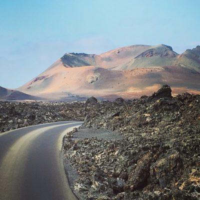 Tour door het zuiden van Lanzarote