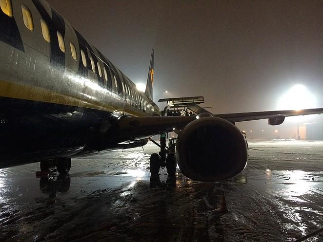 vliegtuig-wintersport