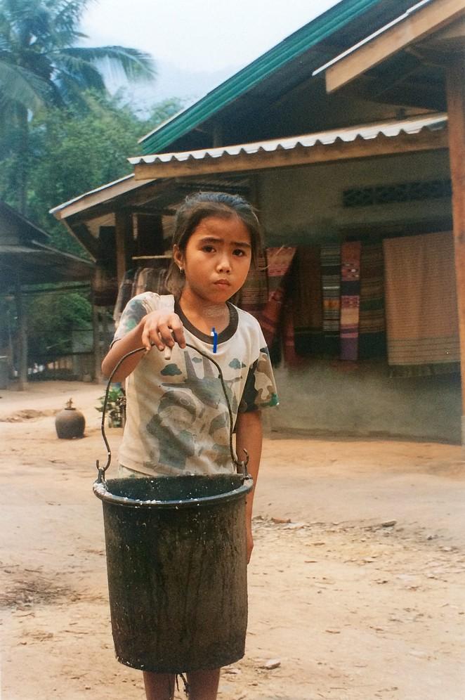 Meisje-laos-werk