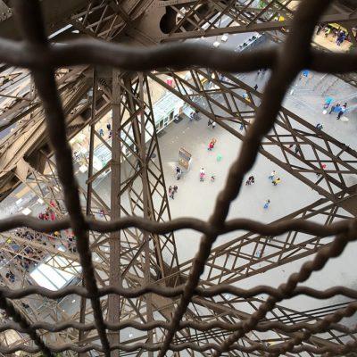 Eiffeltoren beklimmen: trap of lift?