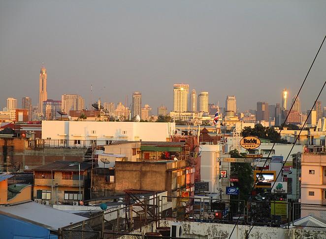 bangkok -zonsondergang