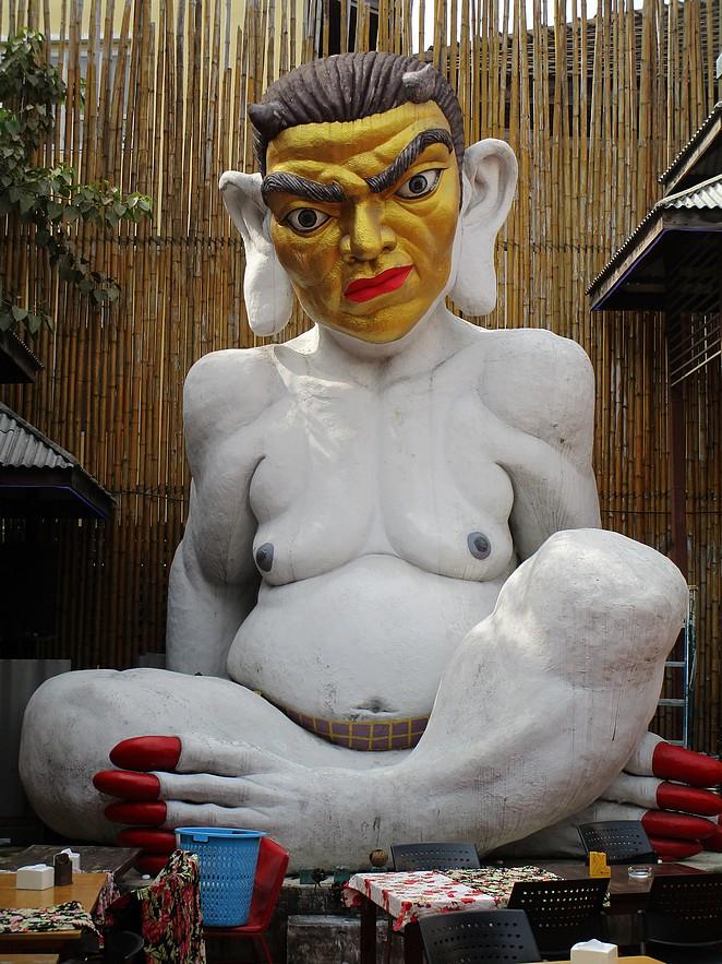 raar-beeld -bangkok